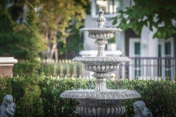 ระบบของน้ำในสวนจัดเอง