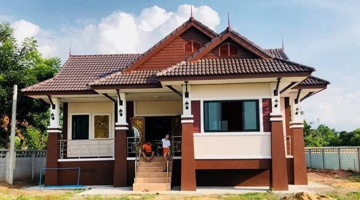 บ้านทรงไทยประยุกต์ ที่น่าสนใจในช่วงนี้